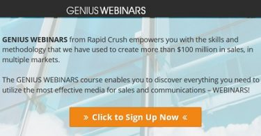Genius Webinars with Jason Fladlien