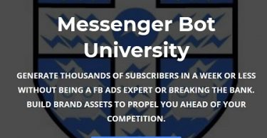 Paul Baron - Messenger Bot University