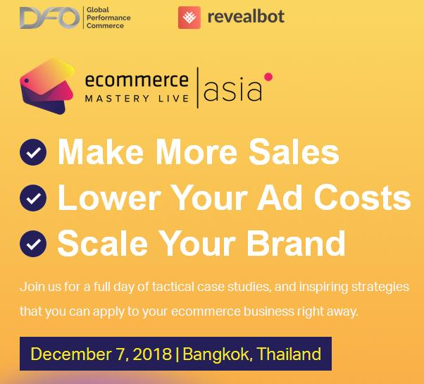 iStack Traning - Ecommerce Mastery live Asia Thailand
