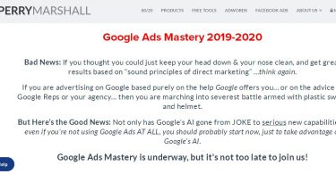 Perry Marshall & Mike Rhodes - Google Ads Mastery