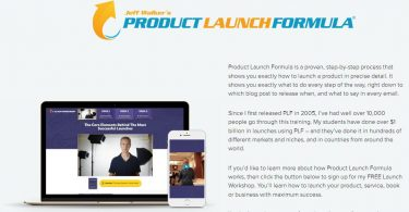 Jeff Walker - Product Launch Formula 2019