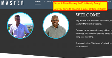 SuperAffiliateMaster - The Ultimate Super Affiliate Mastery 2020